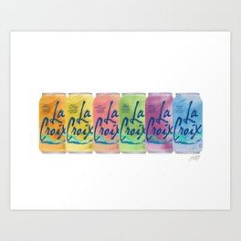 La Croix Illustration Art Print