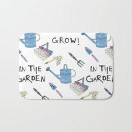 Gardening.  Bath Mat