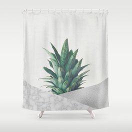 Pineapple Dip VIII Shower Curtain