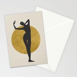 Black figure Stationery Cards