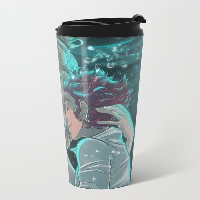 How to be a Werewolf: Chapter 7 Cover Metal Travel Mug