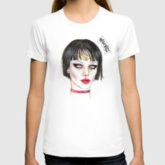 Alice Glass As Sailor Mars  Womens Fitted Tee White X-LARGE