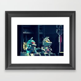 BEST OF FRIENDS Framed Art Print