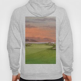 Pebble Beach Golf Course Hole 17 Hoody