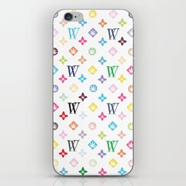 Weed Couture Multicolor iPhone Skin