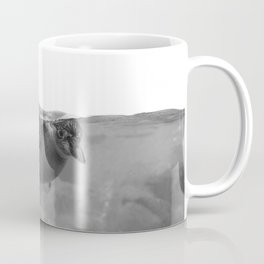 Black and White Penguin Coffee Mug