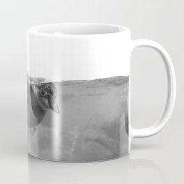 Black and White Penguin Coffee Mug