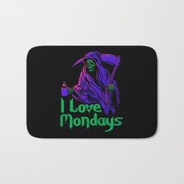 I Love Mondays Bath Mat