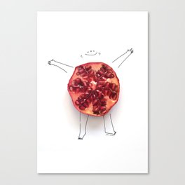 Llenita de Felicidad Canvas Print