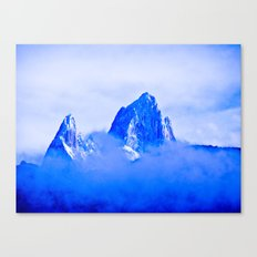 Two mountains. Canvas Print