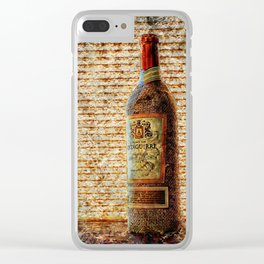 El Vino Dulce Clear iPhone Case