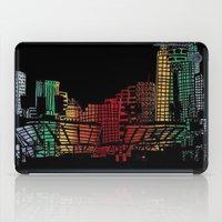 cincinnati iPad Cases featuring Cincinnati Nights by Tambergal