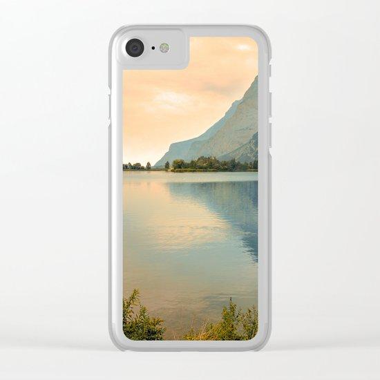 Autumn Glance Clear iPhone Case