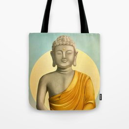 Gold Buddha Tote Bag
