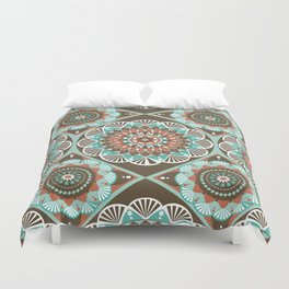 Toned Variety Pattern Duvet Cover
