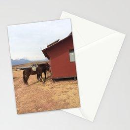 Horses in Peru Stationery Cards