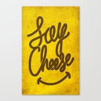cheese Canvas Prints featuring Cheese ! by Didier Gérardin