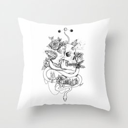 Gypsy Feels Throw Pillow