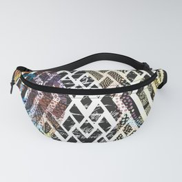 AFRO PATTERN Fanny Pack