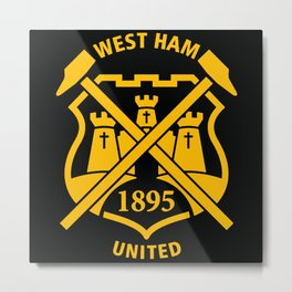 Westham United Metal Print