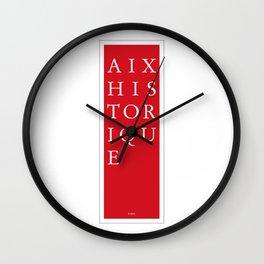 Aix Historique - Paris Wall Clock