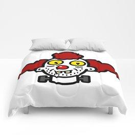 creepy clown Comforters