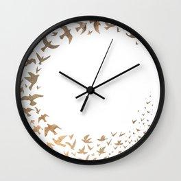 Starbirds Wall Clock