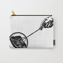 Making Toast by Fire Carry-All Pouch