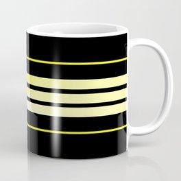 Team Colors 5....Yellow , black Coffee Mug