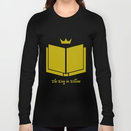 The King in Yellow Long Sleeve T-shirt