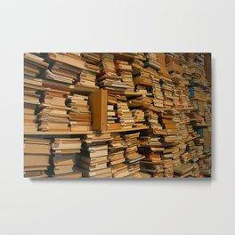Books, books, books | Buecher, Buecher, Buecher Metal Print