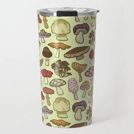 Mushroom Circle Travel Mug