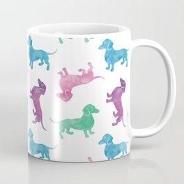 Raining Dachshunds Coffee Mug