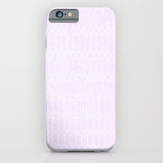 Purple Circles iPhone & iPod Case