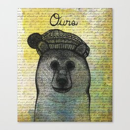 Ours (Bear) Canvas Print
