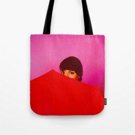 Behind the Umbrella Tote Bag