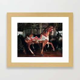 Outside Row Stander Framed Art Print