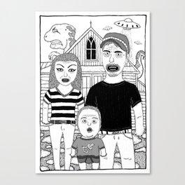 The Invasion Canvas Print