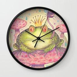 The Frog Prince Wall Clock