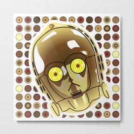 C-3PO Metal Print