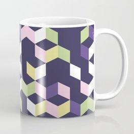 Floral Fantasies Chevron Coffee Mug