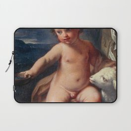 Elisabetta Sirani - The Infant Saint John the Baptist in the Wilderness Laptop Sleeve