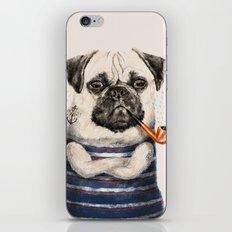 Mr.Pug iPhone & iPod Skin