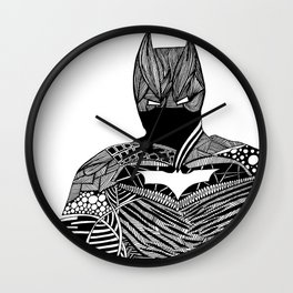 Knight of Night Wall Clock