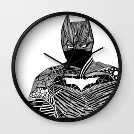 Knight of Night Wall Clock