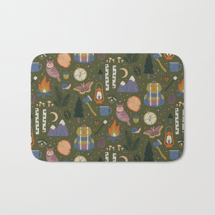 Into the Woods Bath Mat