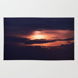 Sun and Clouds Rug