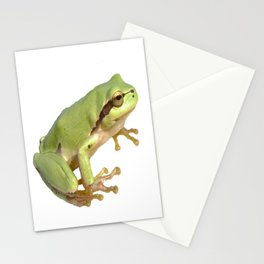 European Tree Frog Stationery Cards