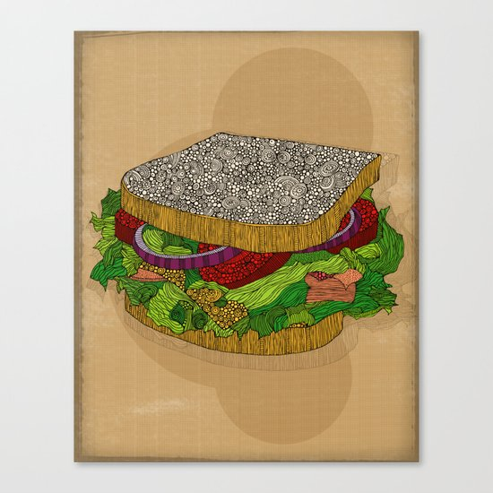 Sanduchito Canvas Print