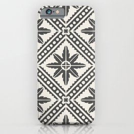 TAZA STAR TILE GREY iPhone Case